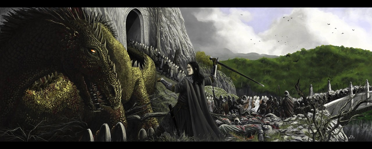 Lotr Fall Wallpaper Sack Of Nargothrond The One Wiki To Rule Them All