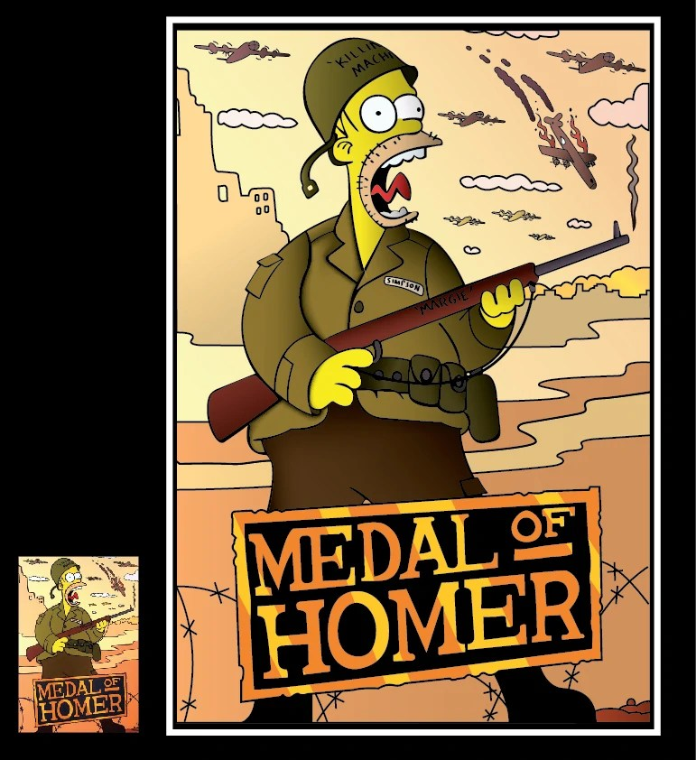 Simpsons Wallpapers 3d Medal Of Homer Medal Of Honor Wiki Fandom Powered By Wikia