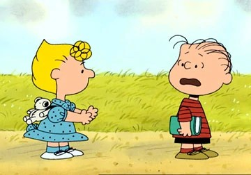 Fall Leaves Dancing Wallpaper Sally And Linus Relationship Peanuts Wiki Fandom