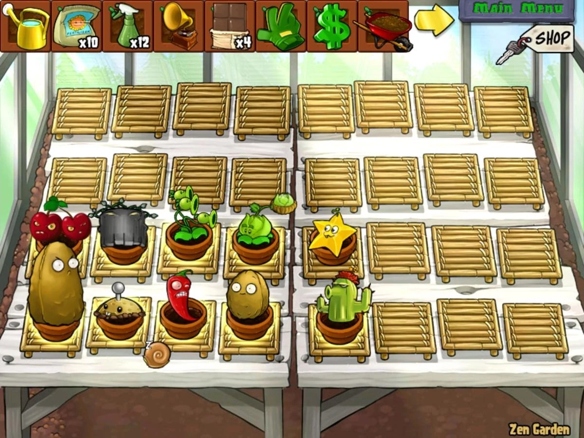 Zen Garten Plants Vs Zombies Image Jakes Zen Garden Jpg Plants Vs Zombies Wiki