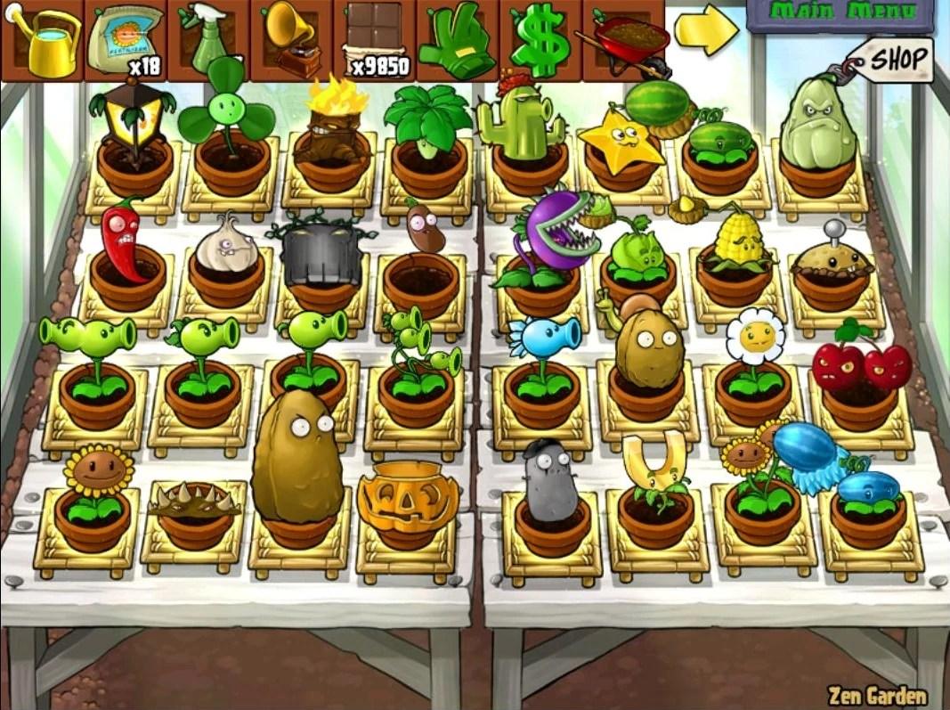 Zen Garten Plants Vs Zombies Image A Full Hacked Daytime Zen Garden Jpg Plants Vs