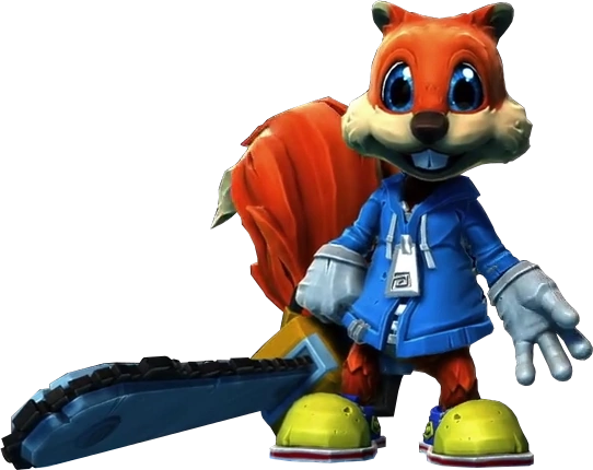 Wallpaper Minecraft 3d Conker The Squirrel Project Spark Wiki Fandom Powered