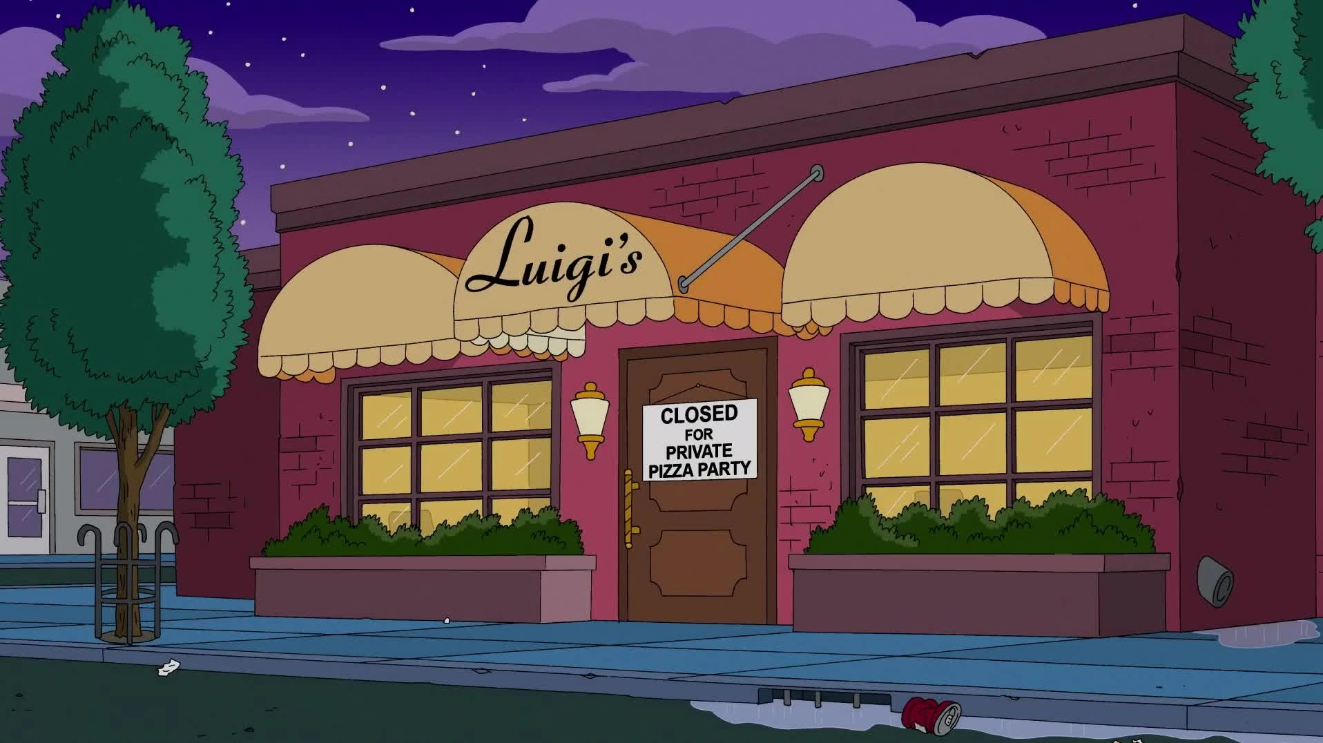 Sushi Restaurant Houten Image - Luigi's.png | Simpsons Wiki | Fandom Powered By Wikia