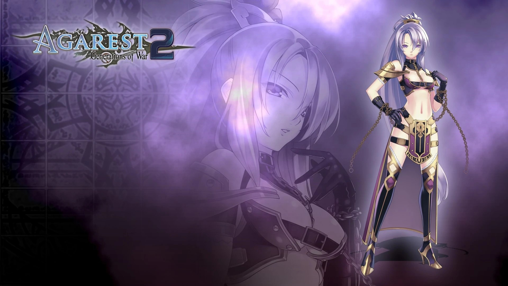 Anime Goth Girl Wallpaper Agarest Generations Of War 2 Eva Steam Trading Cards