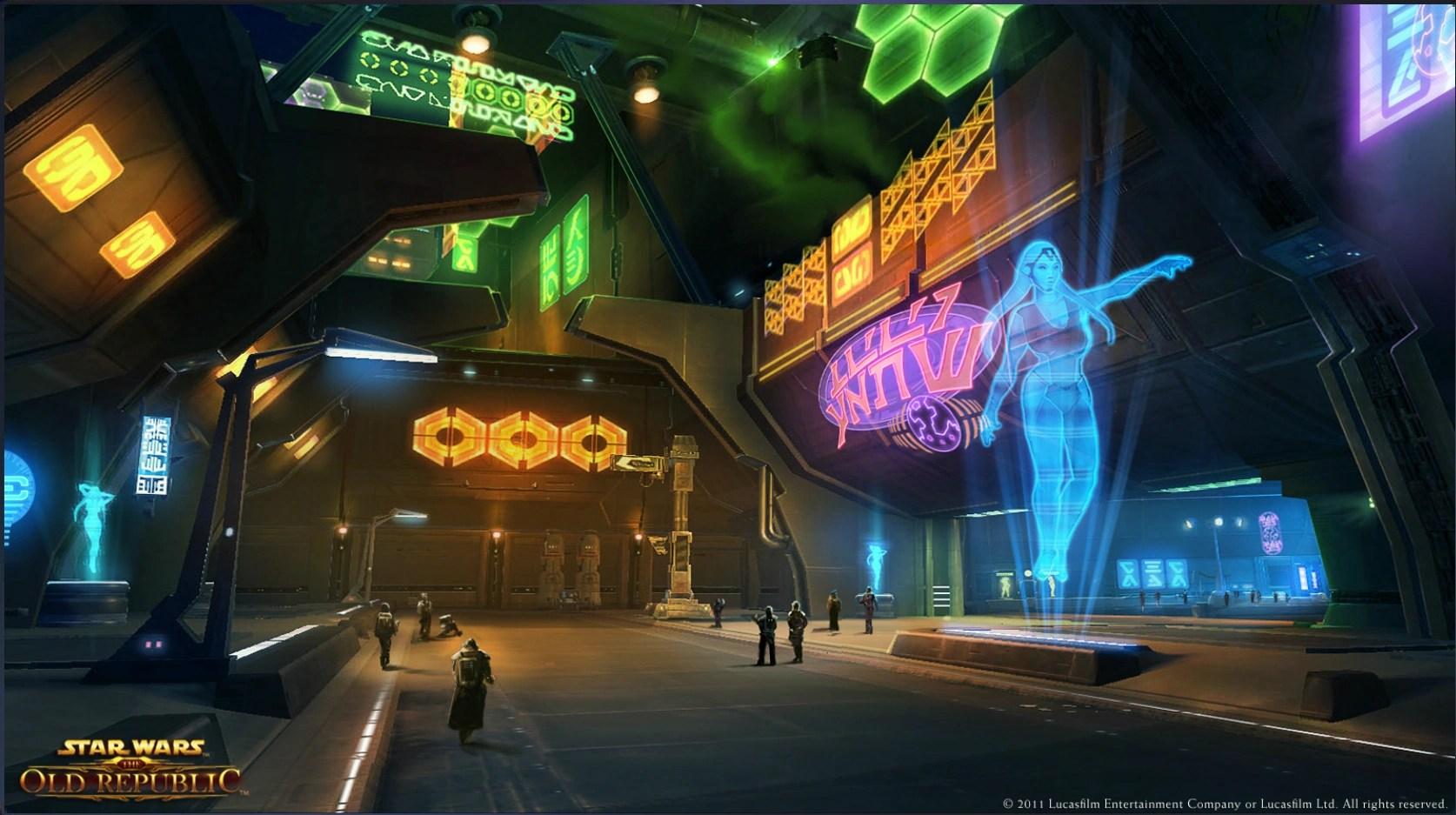 3d Galactic Wallpaper Hologram Star Wars The Old Republic Wiki Fandom