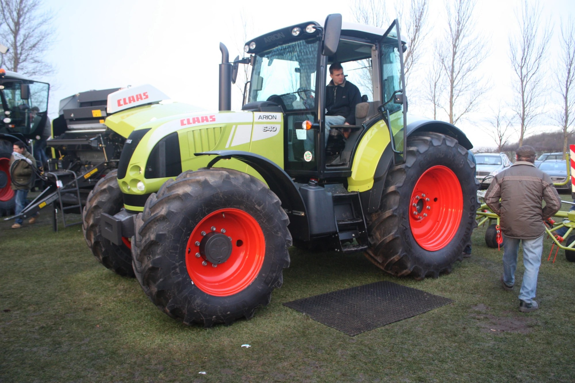 Entreprise Construction Classe 8 Claas Tractor And Construction Plant Wiki Fandom Powered