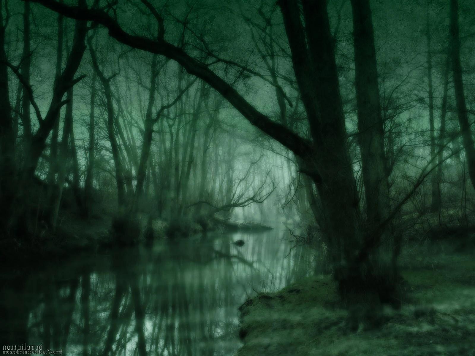 Car Manipulation Wallpapers Smokee Image The Dark Swamp Mystery Fantasy Green Art Hd