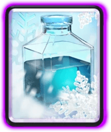 Freeze Spell Clash Royale Card