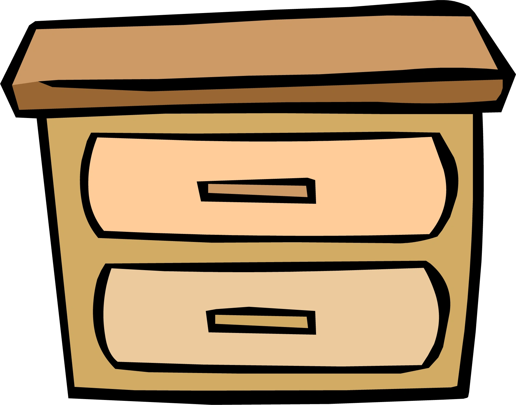 Night Table Clipart Log Drawers Club Penguin Wiki Fandom Powered By Wikia
