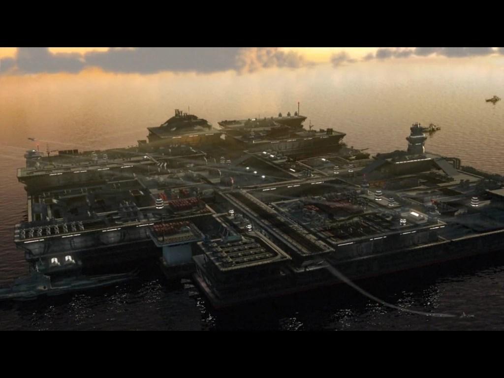Shogun 2 Fall Of The Samurai Wallpaper Floating Fortress Command And Conquer Wiki Fandom