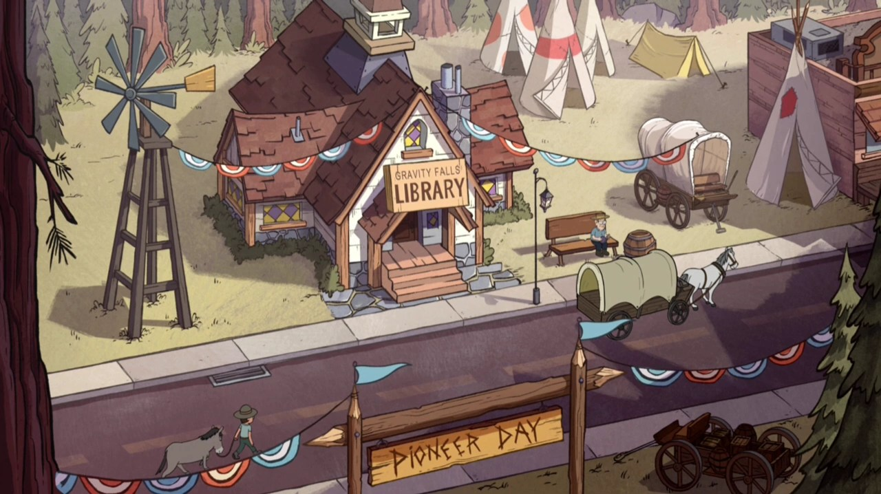 Gravity Falls Mabel And Waddles Wallpaper Gravity Falls Library Gravity Falls Wiki Fandom