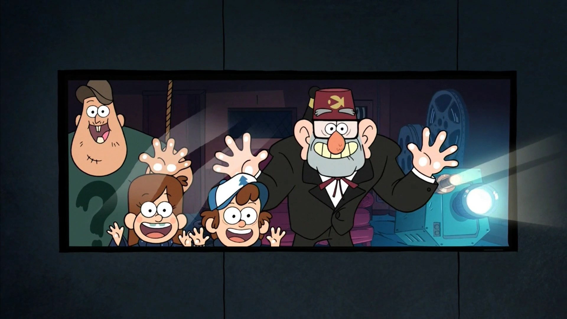 Gravity Falls Dipper And Wendy Wallpaper Mabel S Scrapbook Heist Movie Gravity Falls Wiki