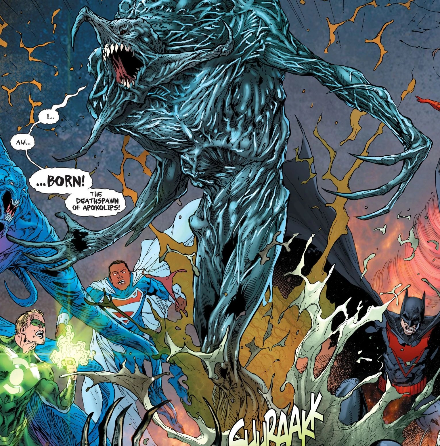 Justice League Hd Wallpaper Deathspawn Earth 2 Dc Database Fandom Powered By Wikia