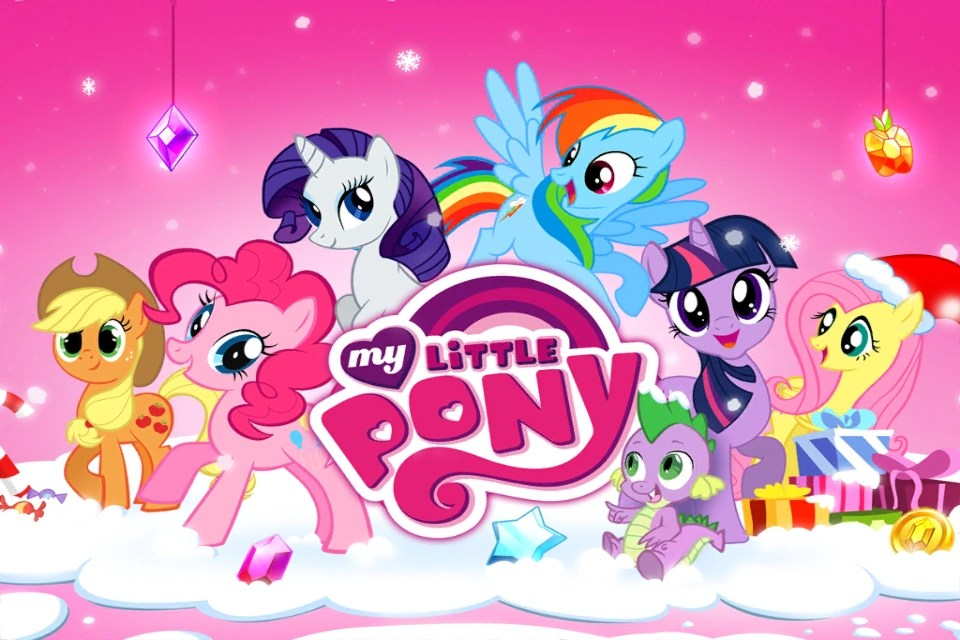 Equestria Girls Android Wallpaper Image My Little Pony Mobile Game Christmas Theme Splash