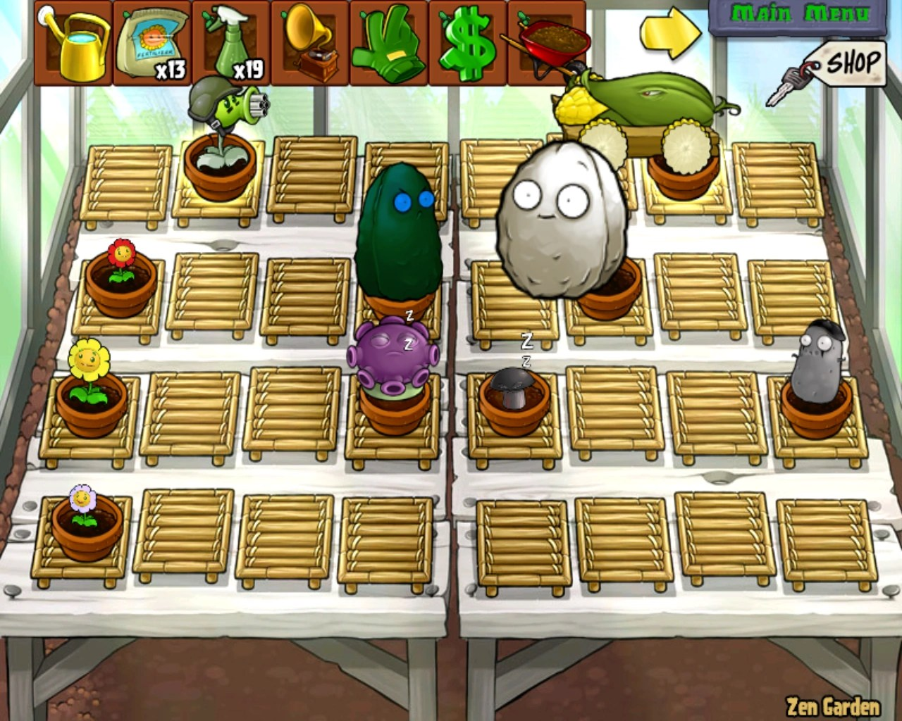 Zen Garten Plants Vs Zombies Image Zen Garden Png Plants Vs Zombies Character