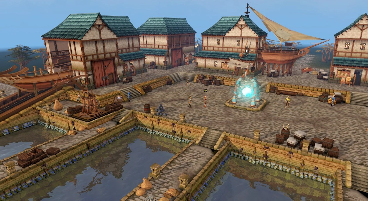 3d Wallpaper For Tv Unit Player Owned Port Runescape Wiki Fandom Powered By Wikia