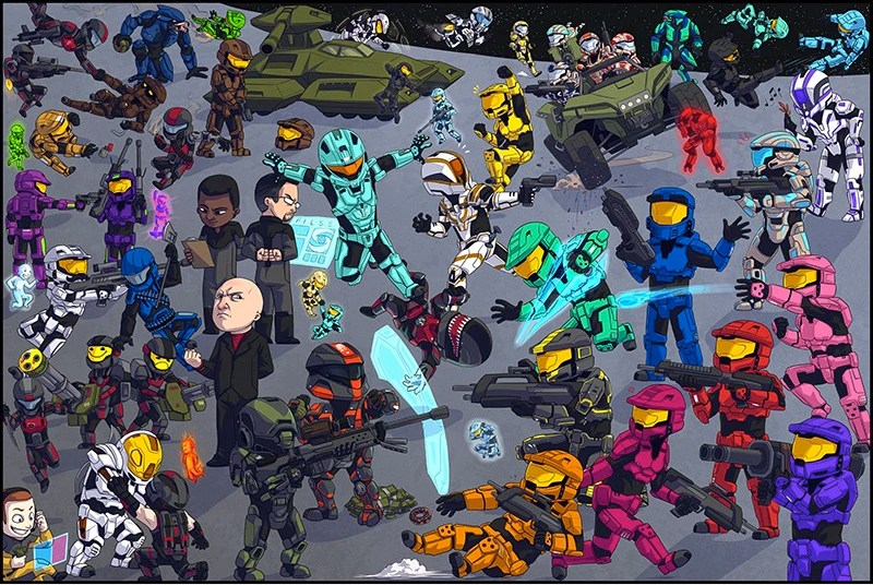 Zombies Animated Wallpaper Hd List Of Characters Red Vs Blue Wiki Fandom Powered By