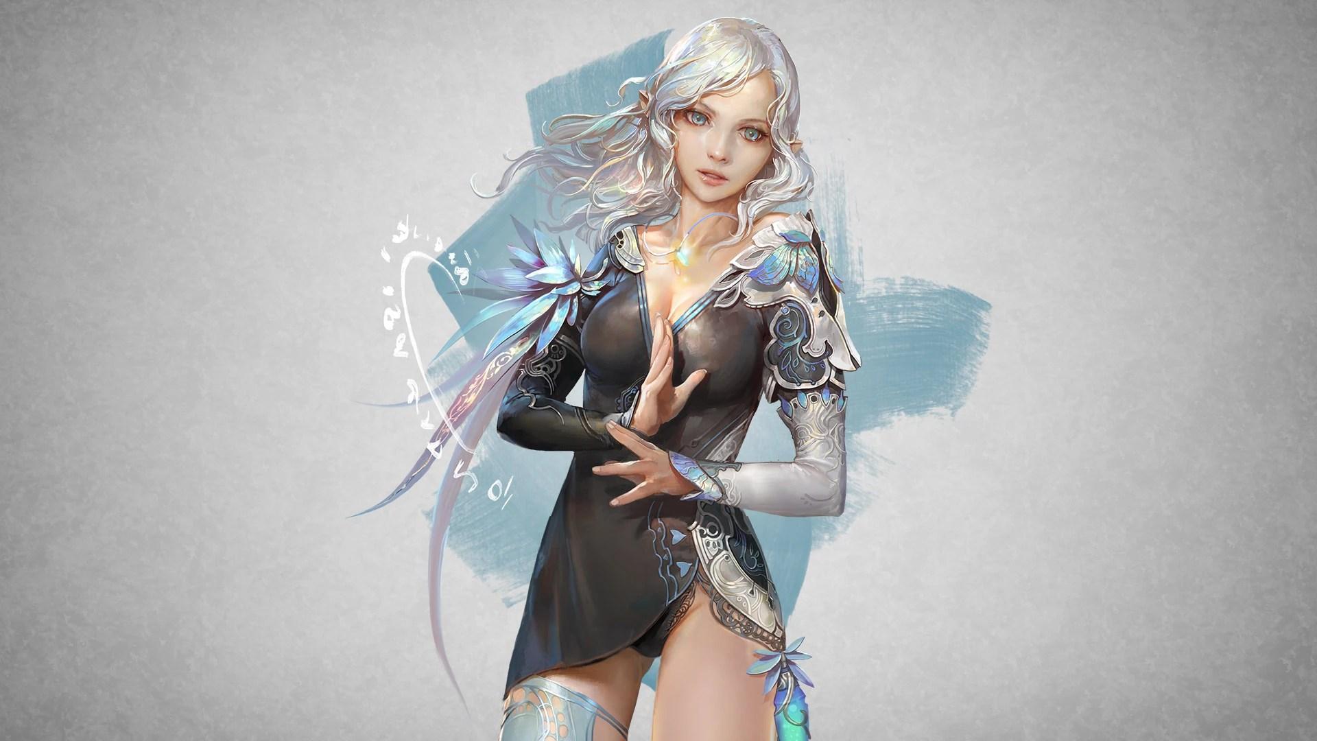 3d Name Wallpaper Editor Online Archeage Elf Female Steam Trading Cards Wiki Fandom