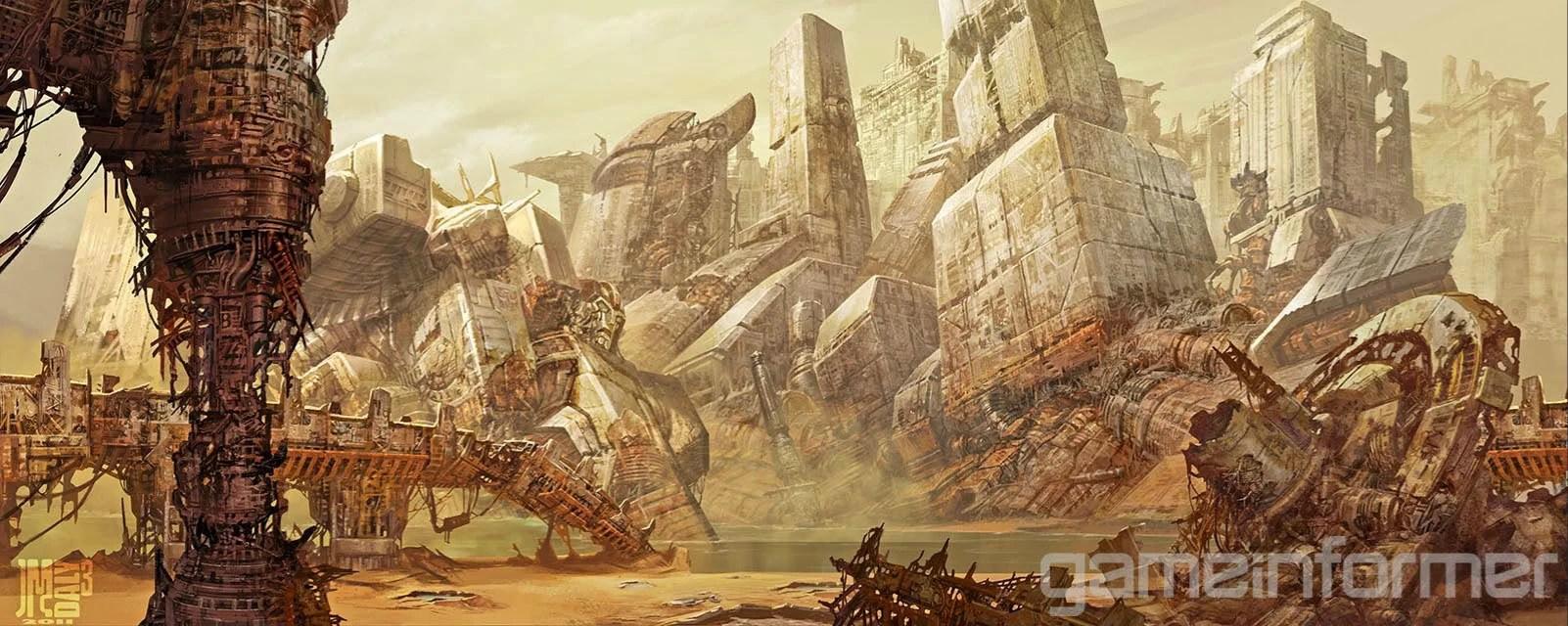 Fall Of Cybertron Wallpaper Hd Rust Sea Teletraan I The Transformers Wiki Fandom