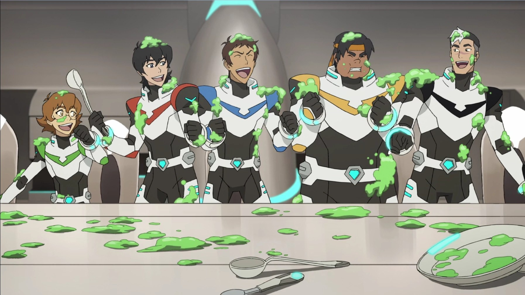 Cute Live Wallpaper Download Image 75 Team Voltron Covered In Food Goo Png Voltron