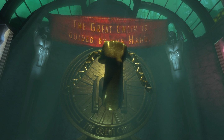 Bioshock Infinite Wallpaper Quote The Great Chain Economic Ideal Bioshock Wiki Fandom