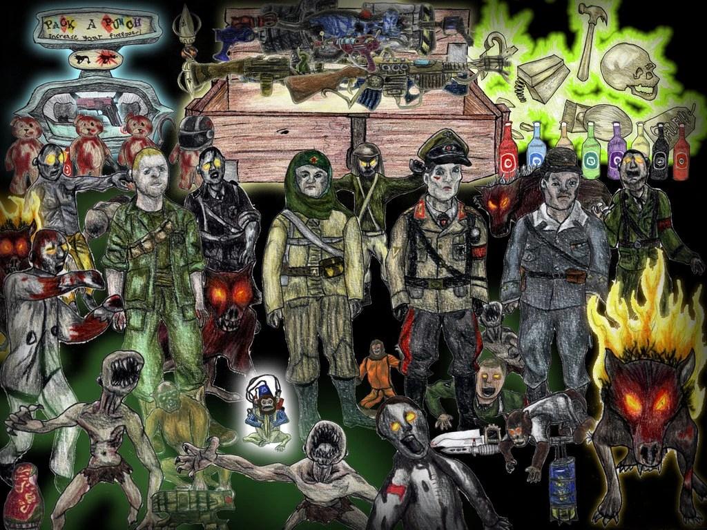 Image - Personal XWilliam45x Zombie Wallpaper.jpg | Call of Duty Wiki | FANDOM powered by Wikia