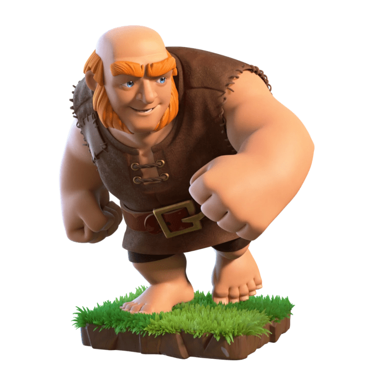All Clash Of Clans Giants Levels