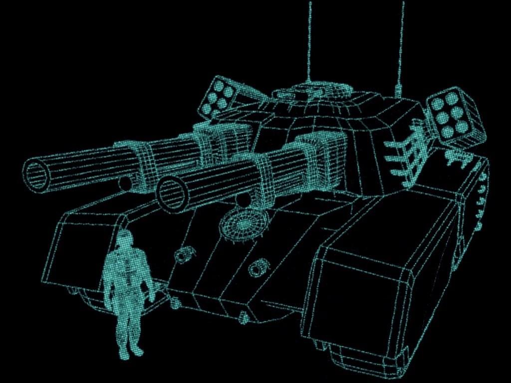 3d Hologram Gun Wallpaper Mammoth Tank Tiberian Dawn Command And Conquer Wiki