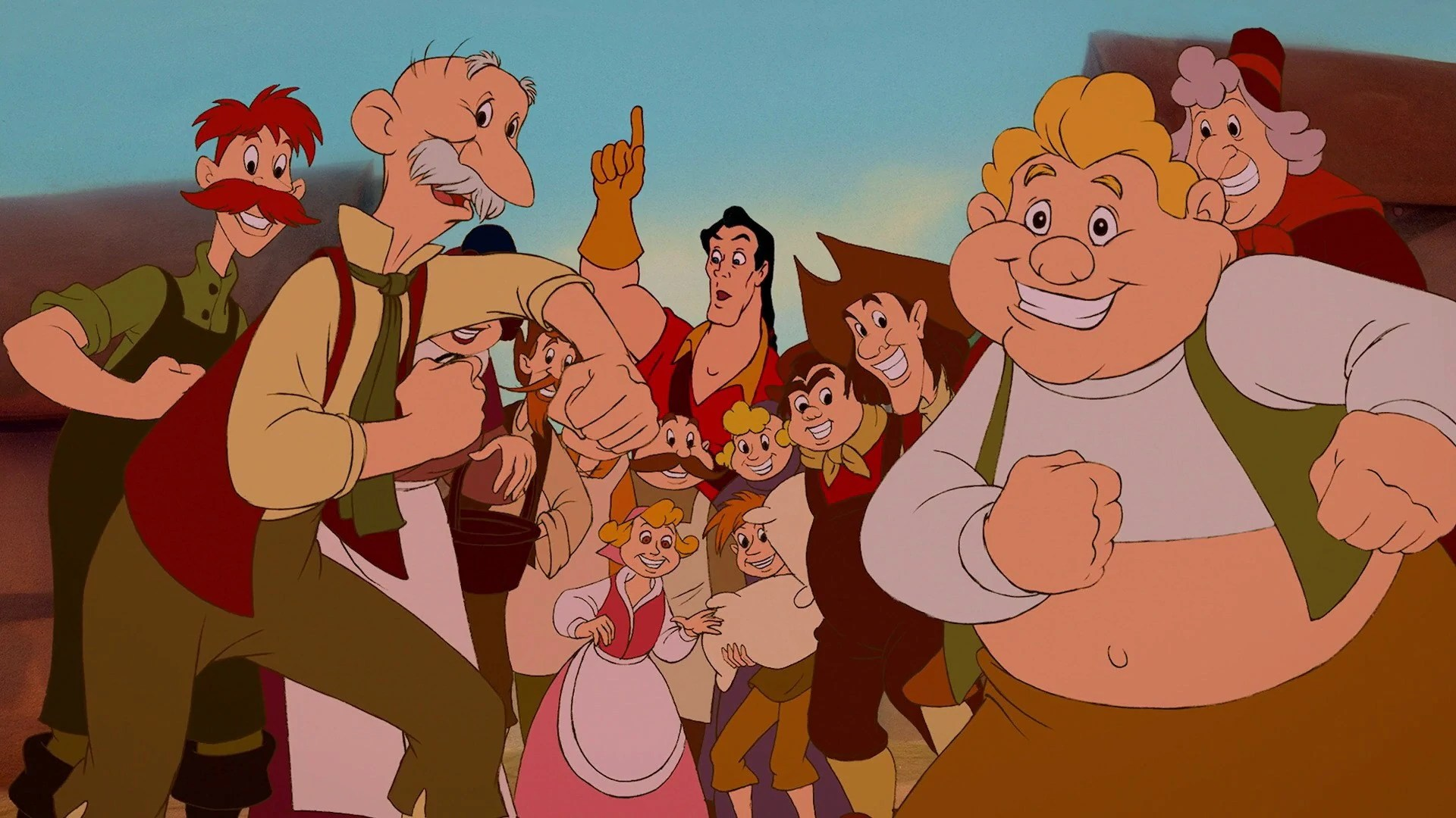 The Smurfs 2 3d Live Wallpaper Villagers Beauty And The Beast Disney Wiki Fandom