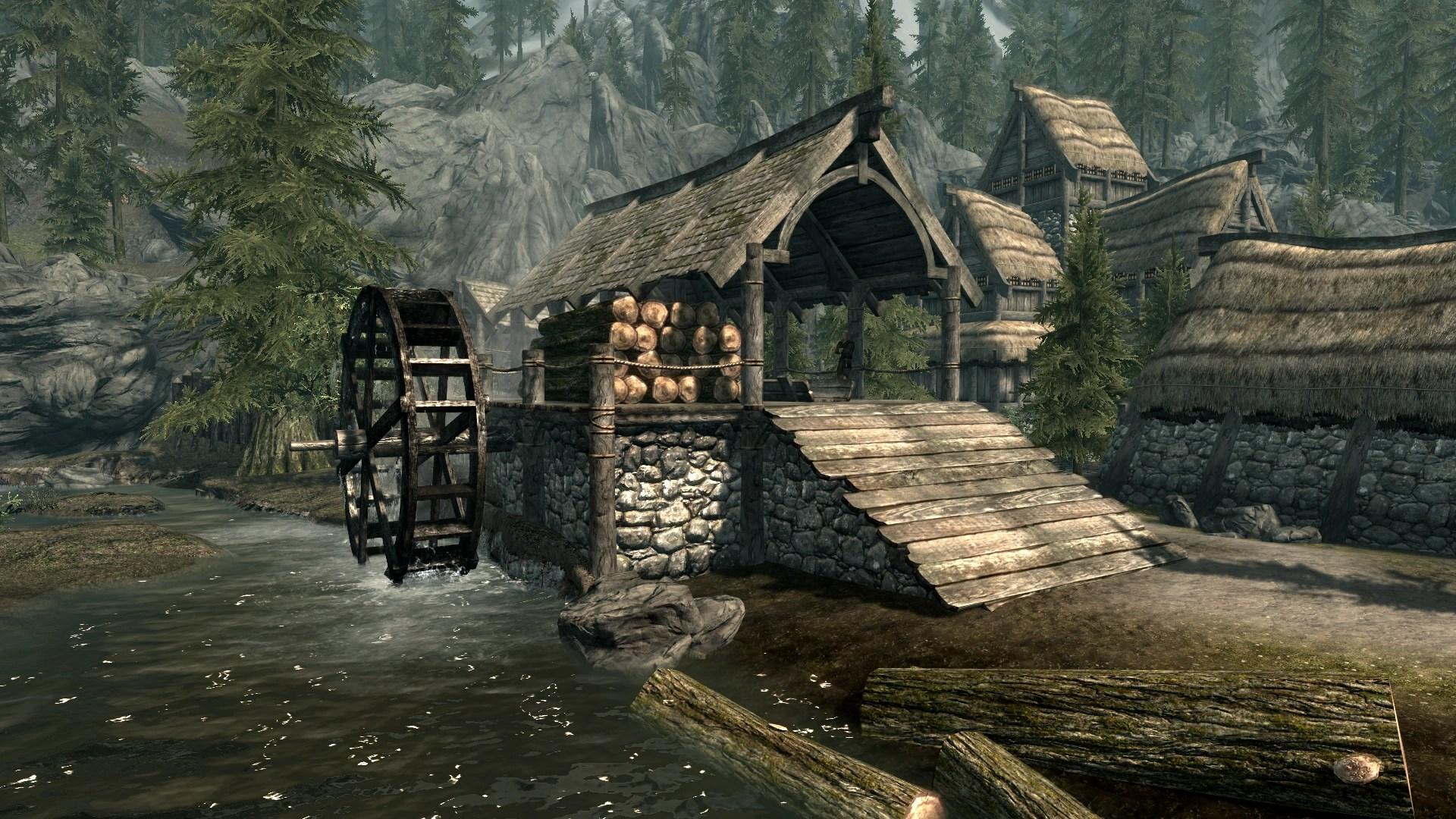 Deadwood Lumber Mill Elder Scrolls Fandom Powered By Wikia