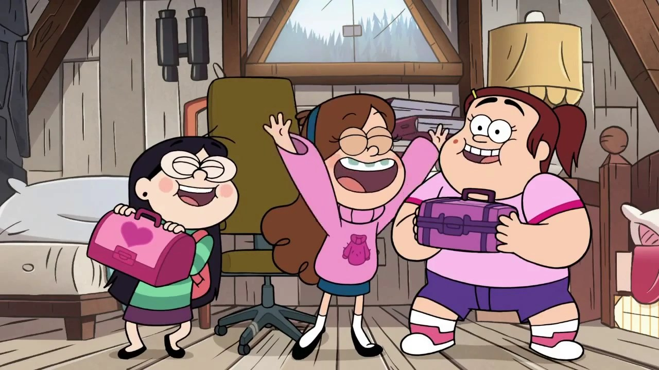 Gravity Falls Mystery Shack Wallpaper Image Short9 Grenda And Candy Png Gravity Falls Wiki
