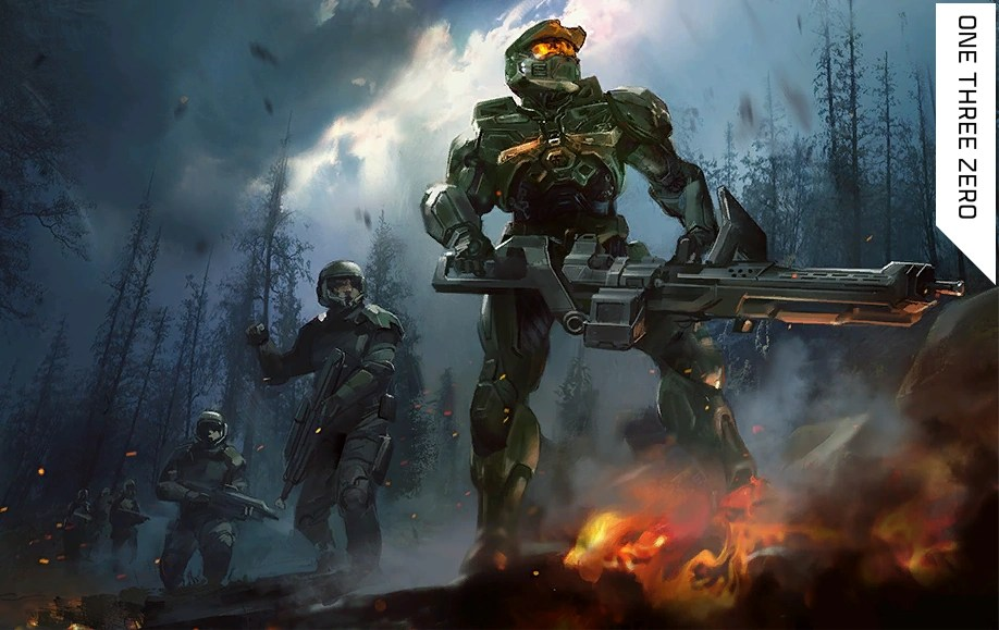 Halo Wallpaper Fall Of Reach One Three Zero Halo Nation Fandom Powered By Wikia