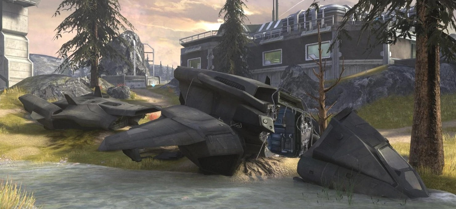 Halo Wallpaper Fall Of Reach Pelican Halo Nation Fandom Powered By Wikia