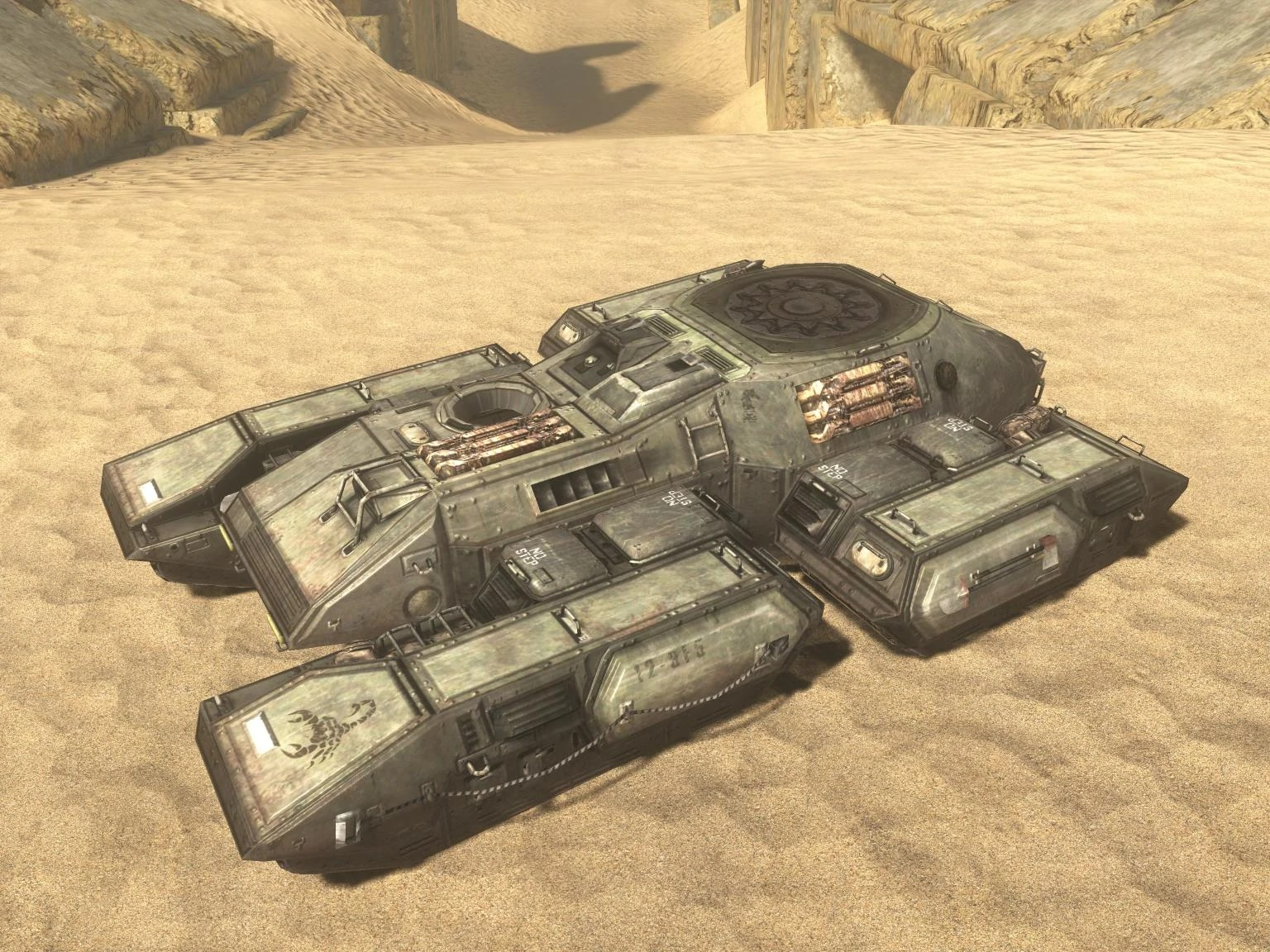 Halo Wallpaper Fall Of Reach Turretless Vehicle Glitch Halo Nation Fandom Powered