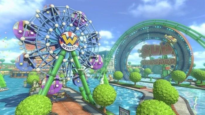 Animal Crossing Fall Wallpaper Water Park Mario Kart Racing Wiki Fandom Powered By Wikia