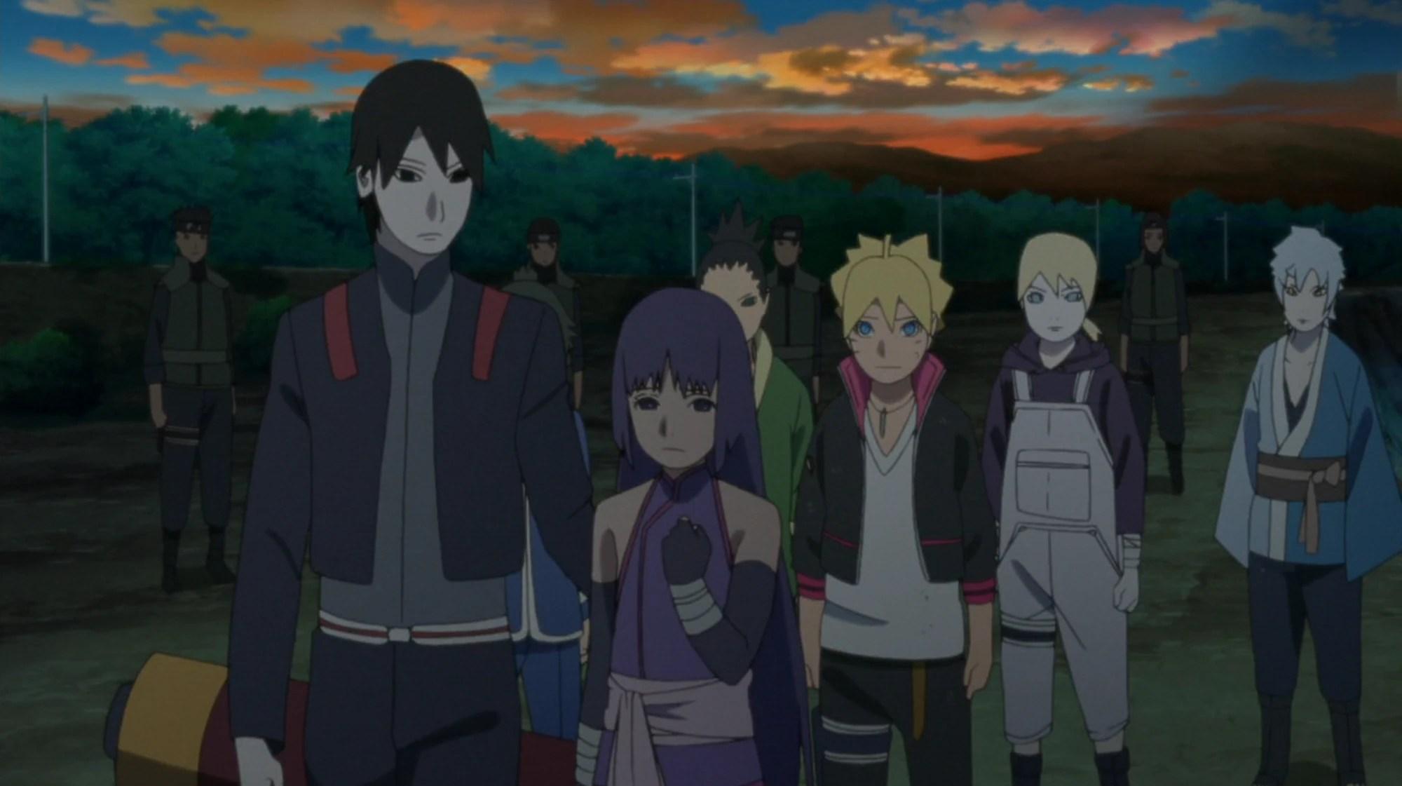 Sakura Falling Live Wallpaper The Path That Boruto Can See Narutopedia Fandom