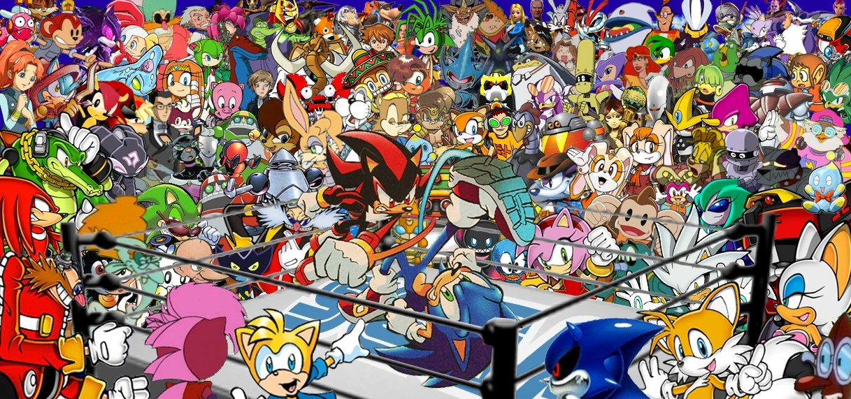 Soni Name 3d Wallpaper Sonic News Network Sonic Character Tournament Week 34