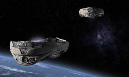 Hyperspace 3d Wallpaper Ori Warship Sgcommand Fandom Powered By Wikia