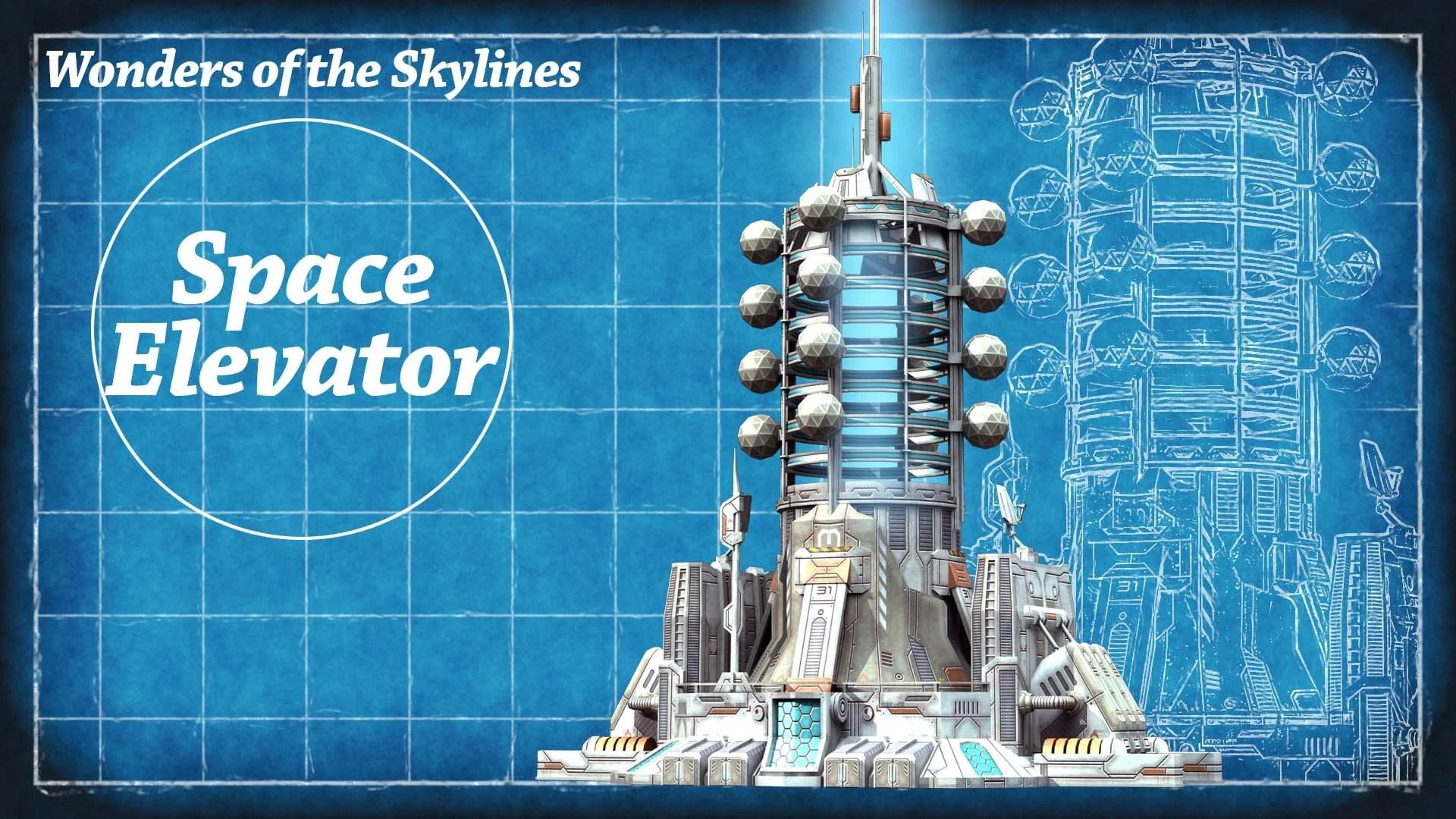Space Elevator Cities Skylines