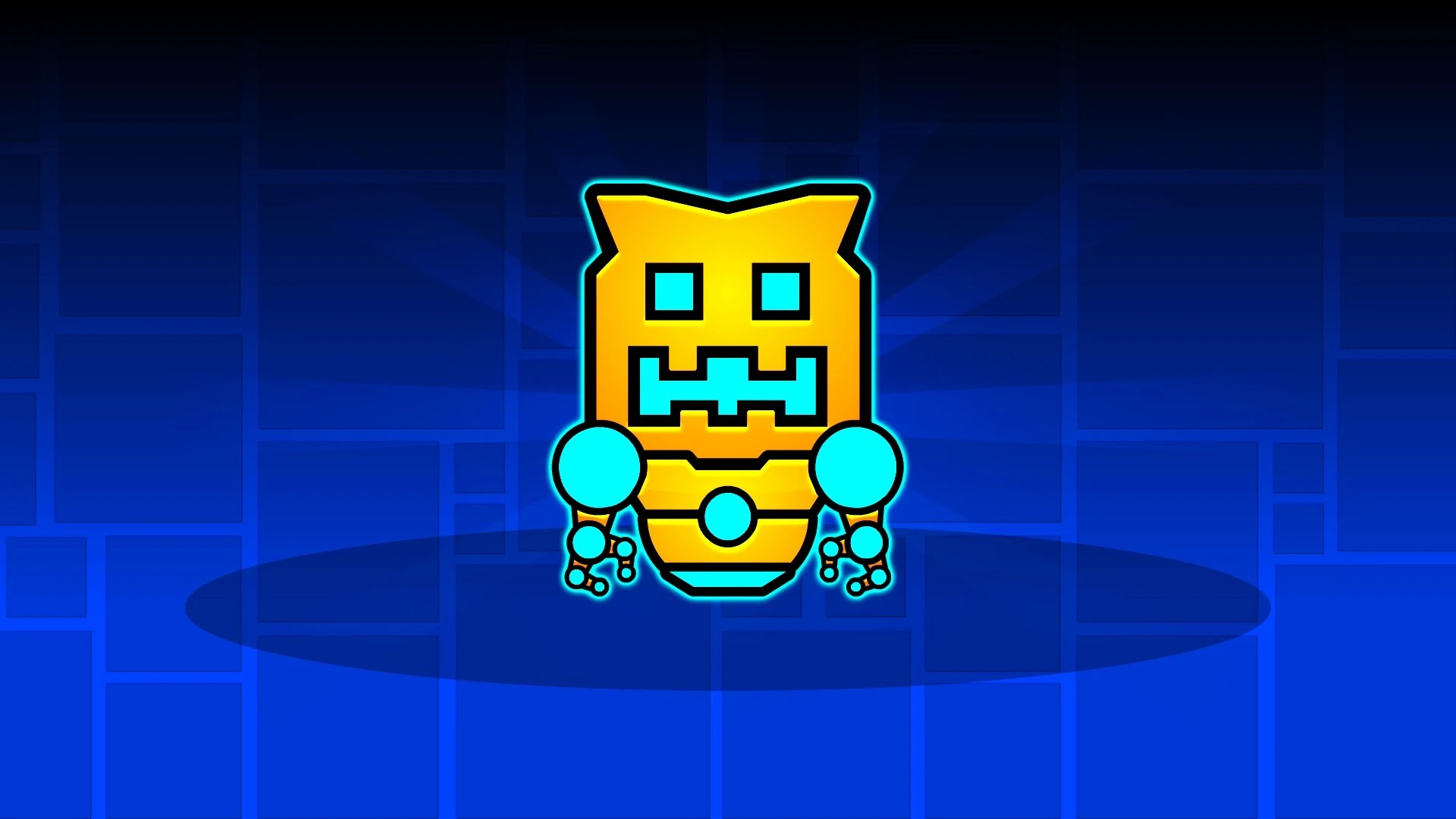 G Letter 3d Wallpaper Geometry Dash Robotop Steam Trading Cards Wiki