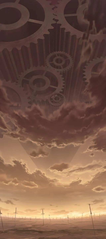 Black Marble Wallpaper Unlimited Blade Works Type Moon Wiki Fandom Powered By