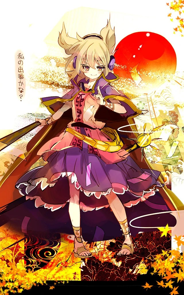 Cute Chibi Fox Wallpaper Toyosatomimi No Miko Villains Wiki Fandom Powered By Wikia