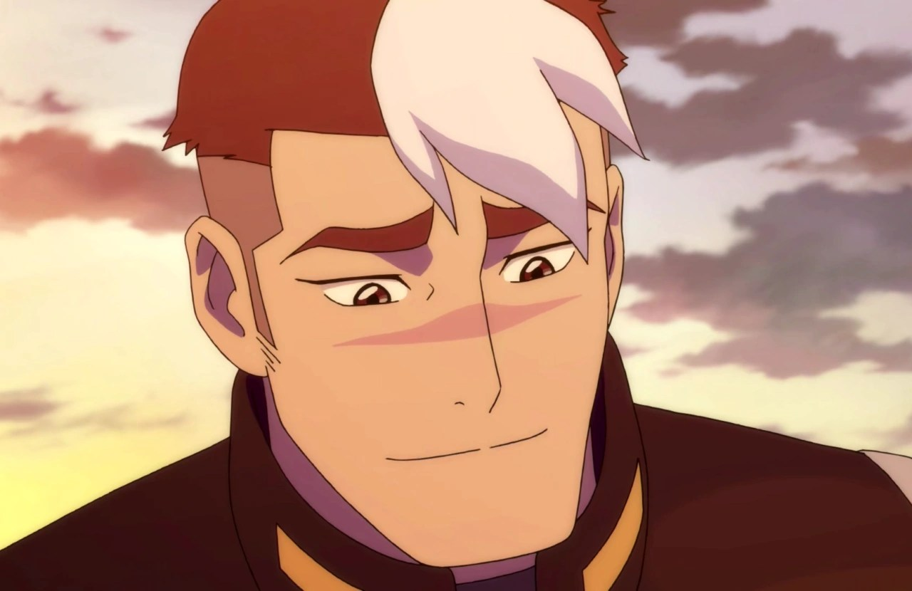 Swimming Wallpaper Quotes Image Shiro S Smile Png Voltron Wiki Fandom Powered
