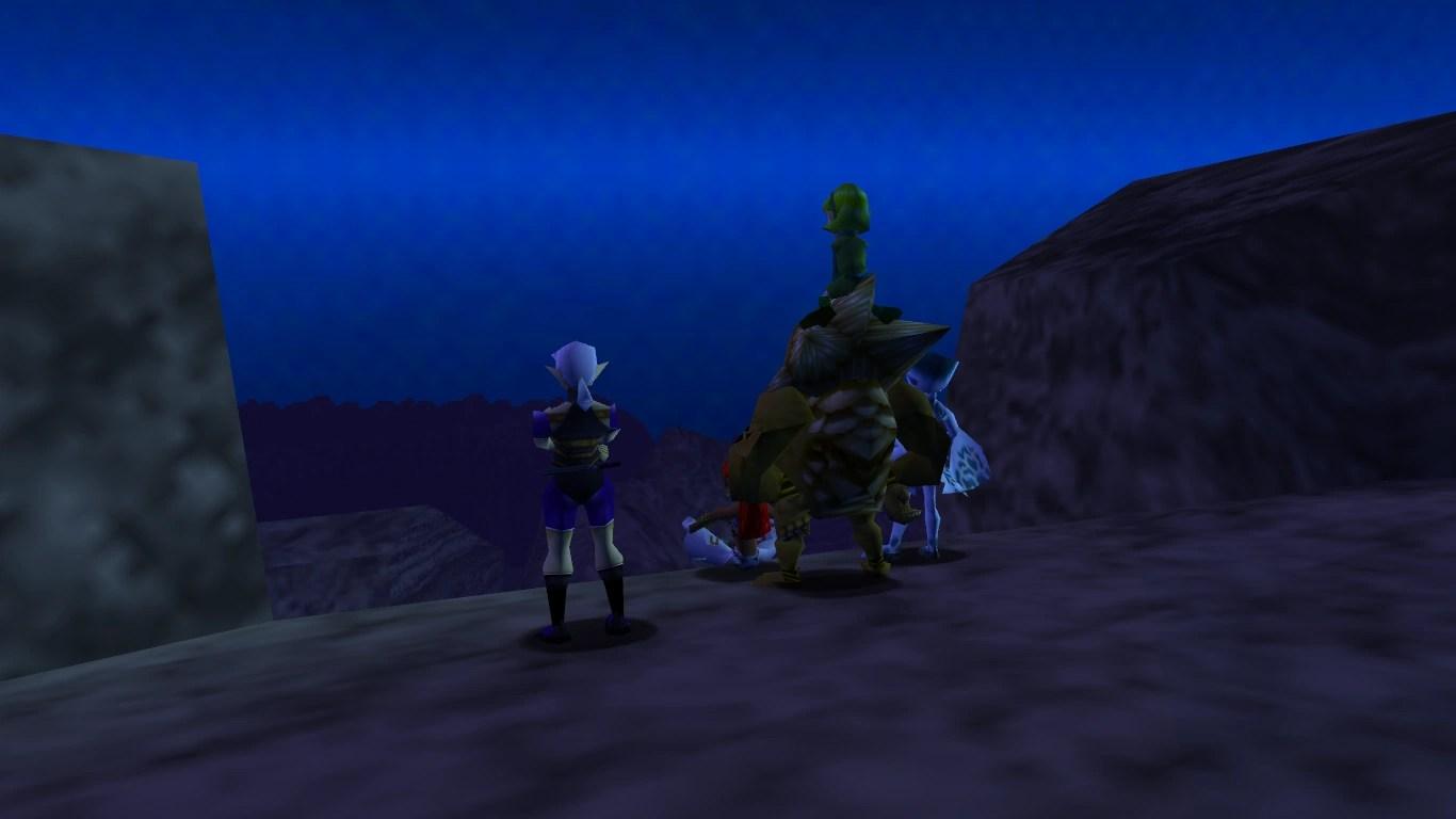 Zelda Ocarina Of Time 3d Wallpaper Seven Sages Ocarina Of Time Zeldapedia Fandom
