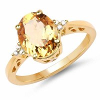 Diamond Gold Ring for Women : Gold Jewellery Shopping ...