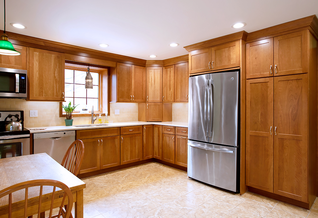 Kitchen Remodel With Matching Drawer Fronts Viking Kitchen Cabinets