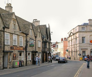Castle Street in Cirencester