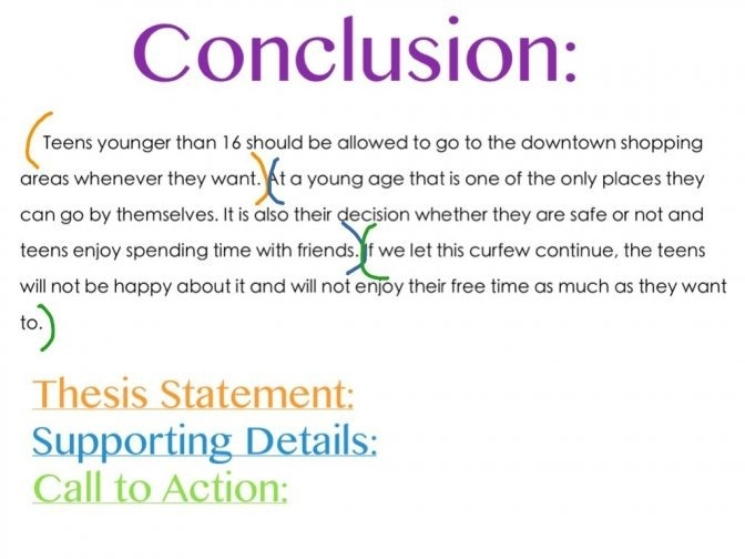 Conclusion Examples