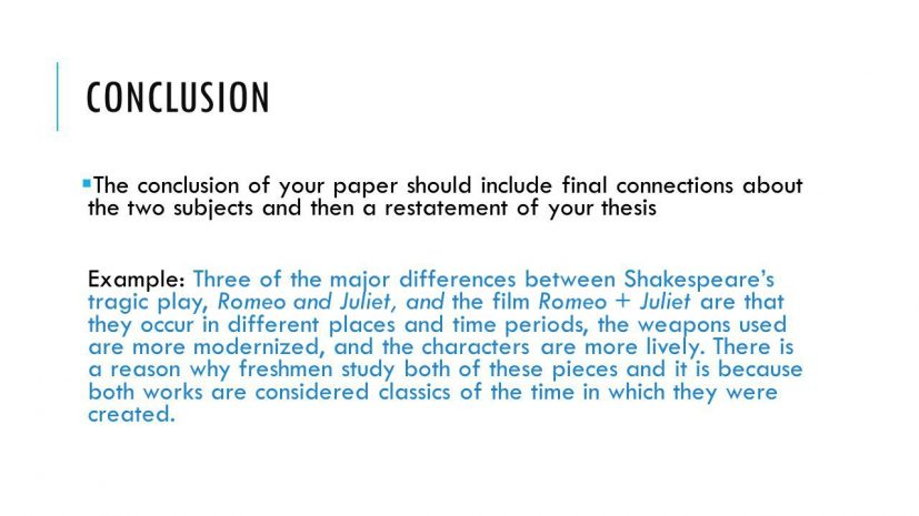 example of conclusions for essays