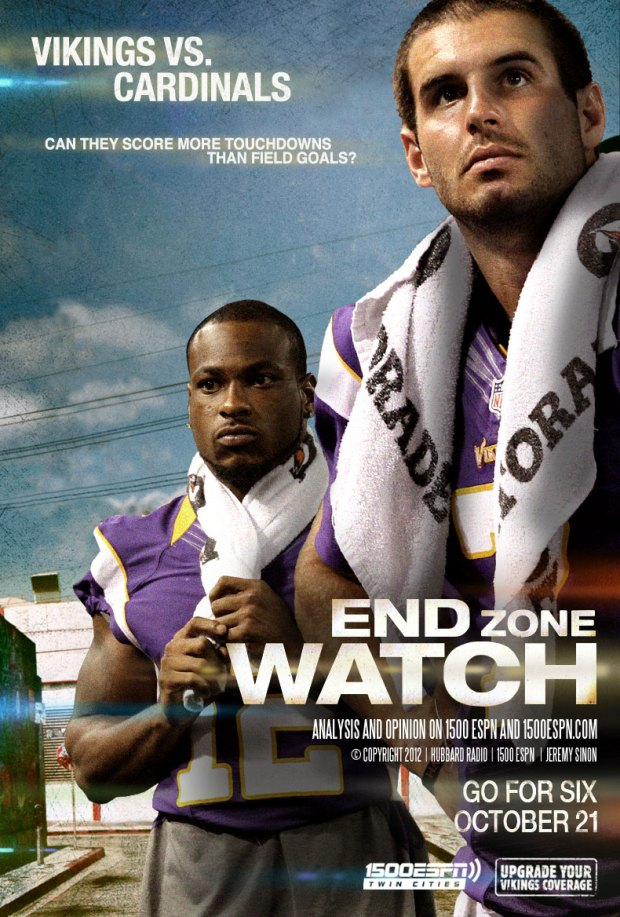 ESPN 1500 Week 7, 2012 Game Poster